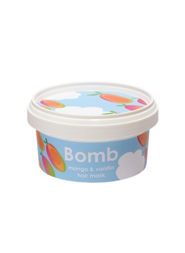 Bomb Cosmetics Mango & Vanilla Saç Maskesi 200ml Renksiz